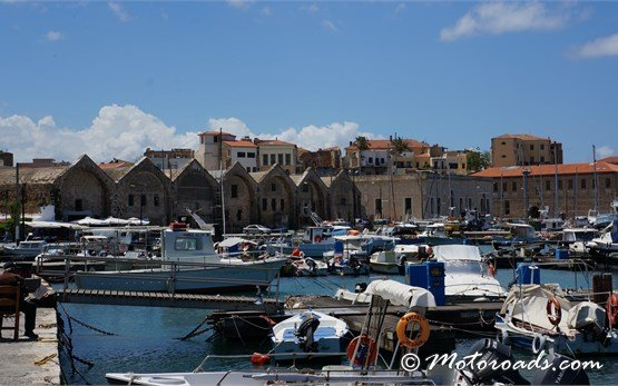 Venetian Neoria in Chania Crete Greece