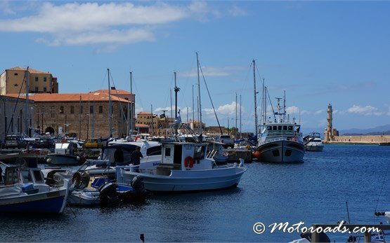 Venetian Port of Chania, Crete, Greece