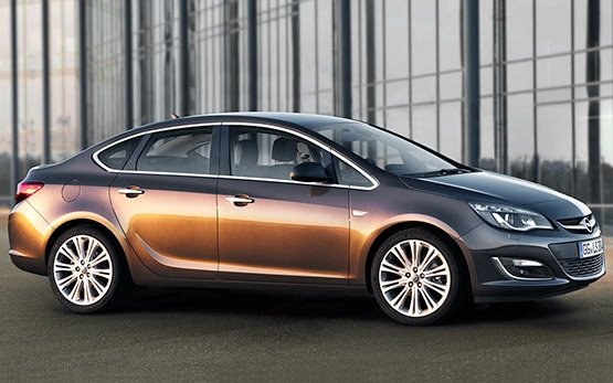 2014 Opel Astra Automatic